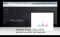 Web Tools For Your APIs: Apex Ping (07:15) cover