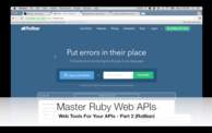 Web Tools For Your APIs: Rollbar (04:50) cover