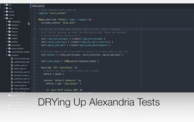 DRYing Up Alexandria Tests (17:41) cover